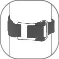 Stainless steel tank cam lock buckle